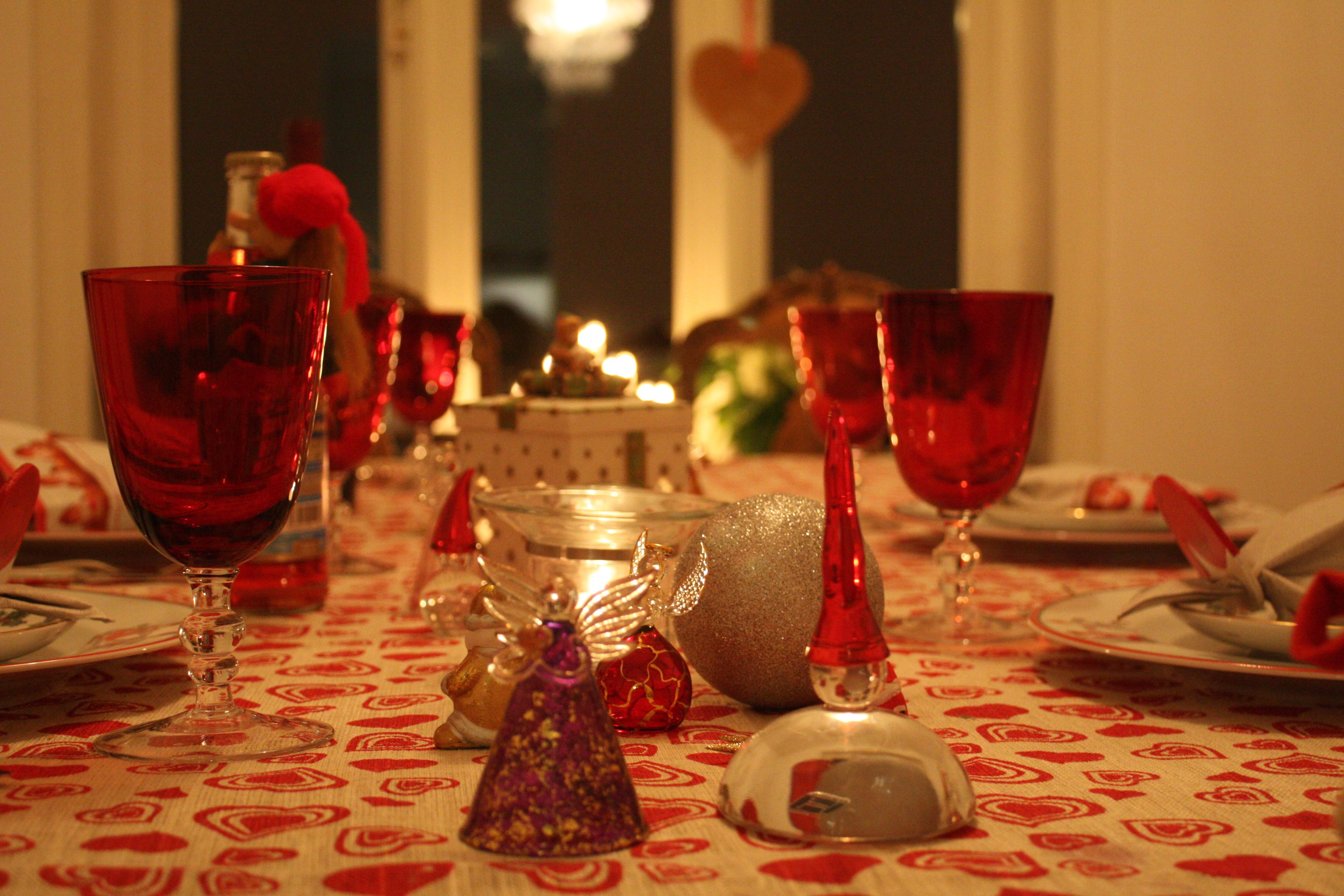 Rødt JuleBord