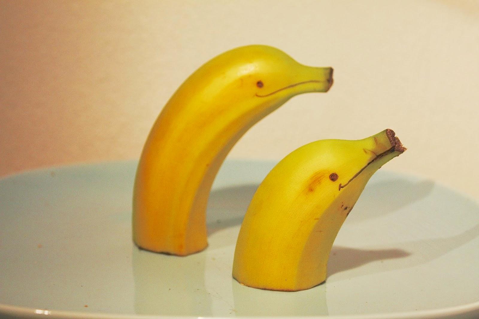 Banan-Delfin, frukt til barn