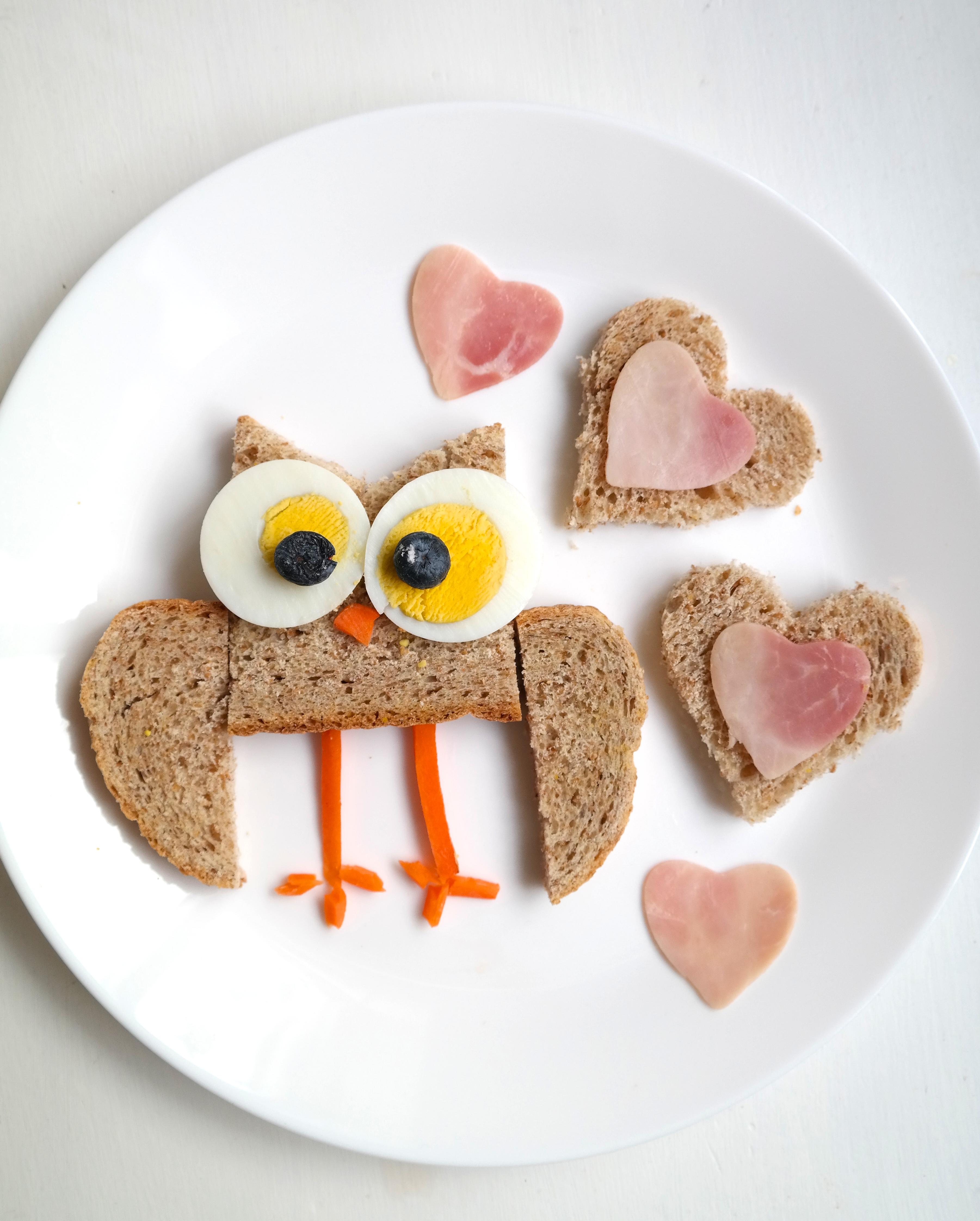 Ugle-skive til frokost