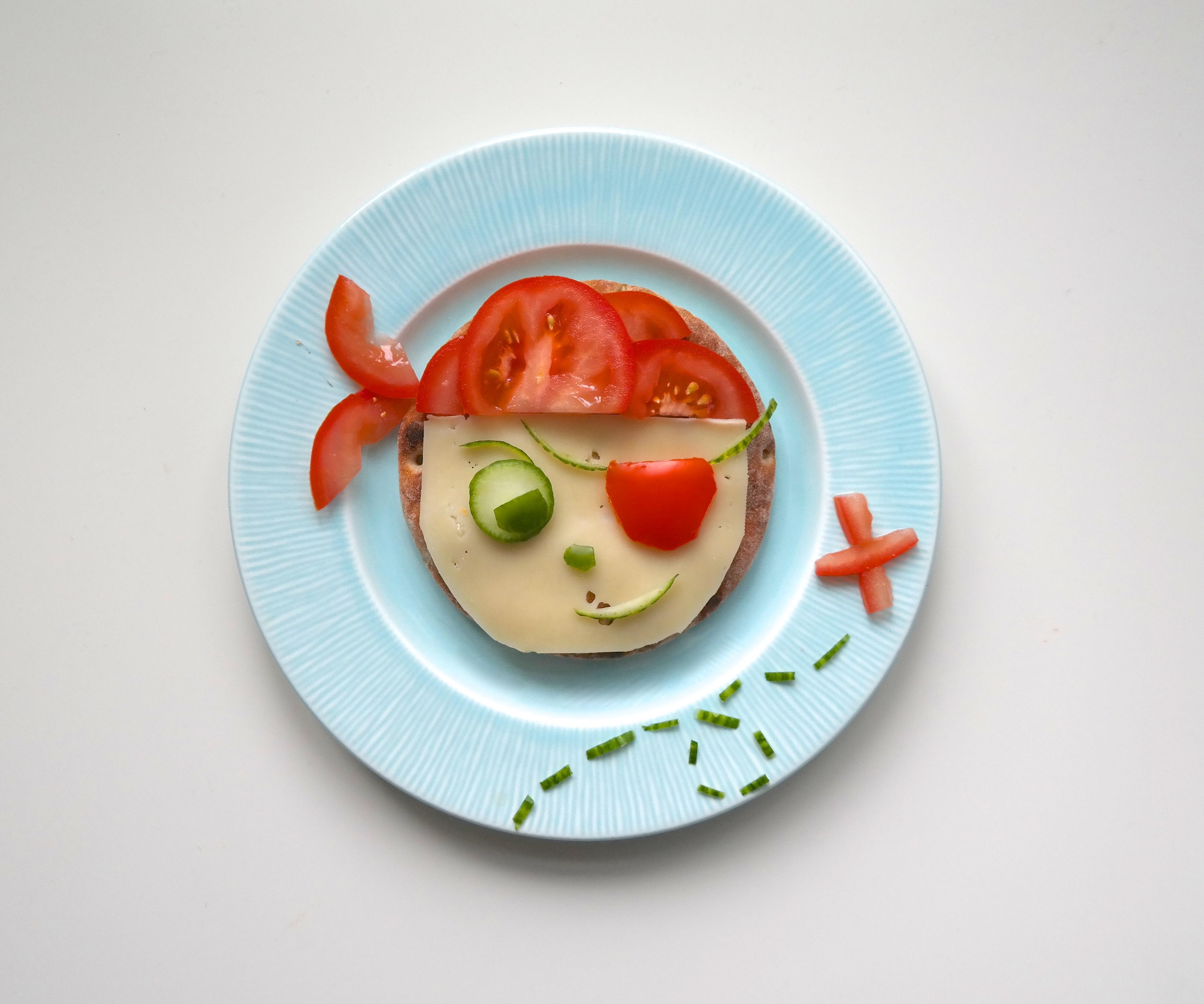 Pirat-polarbrød-frokost