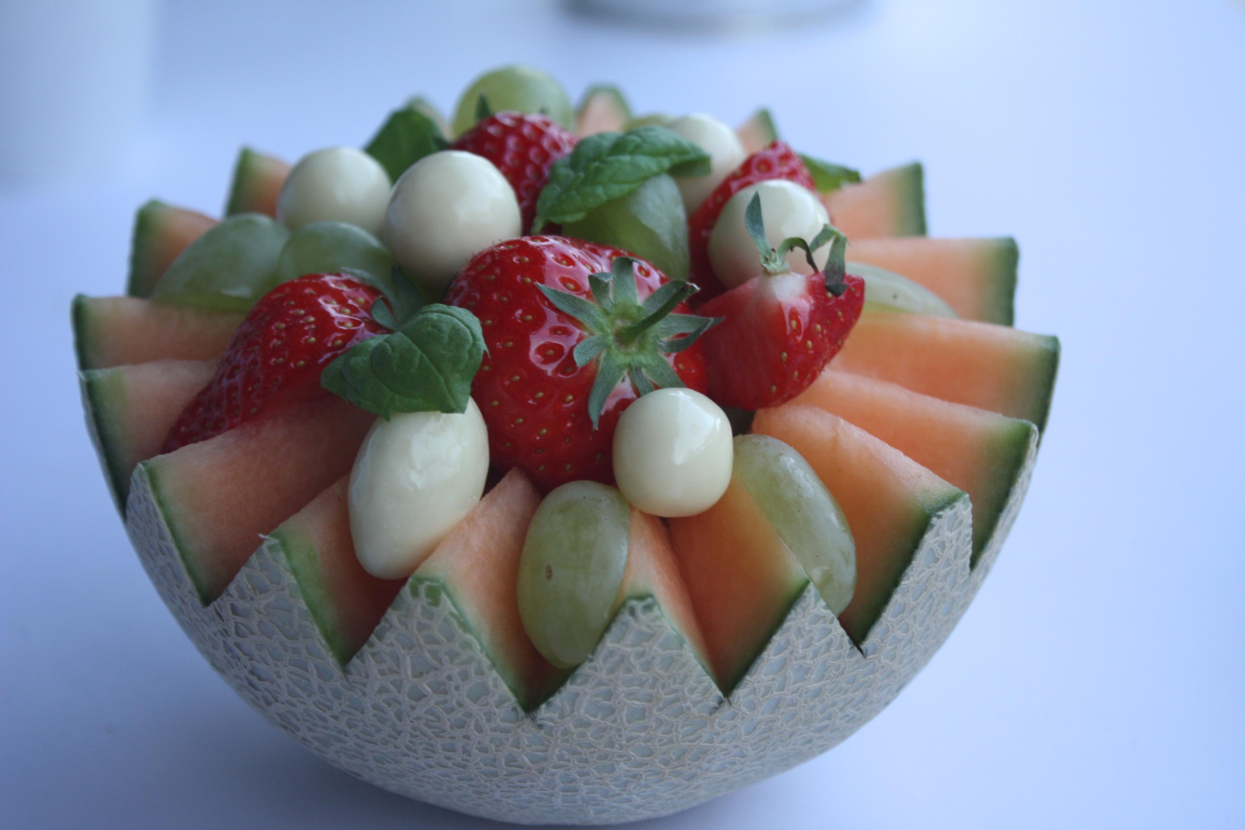 Kreativ Melon skål