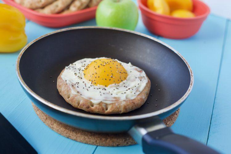 Kreativ frokost med fersken