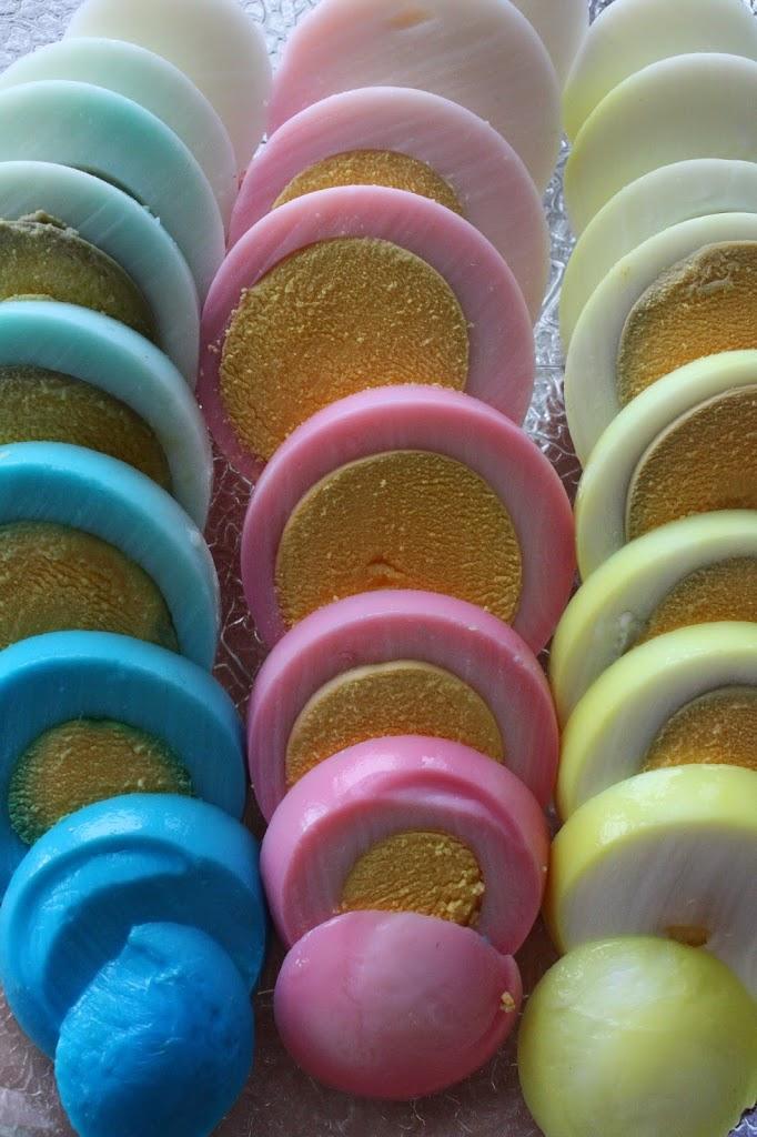 Fargede påske-egg