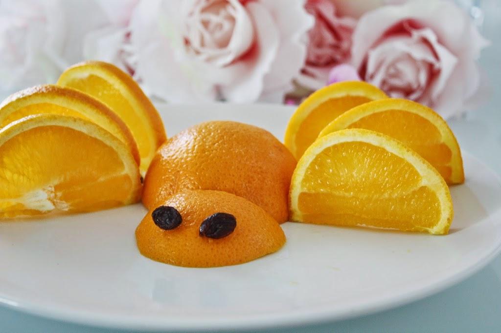 Appelsin-edderkopp