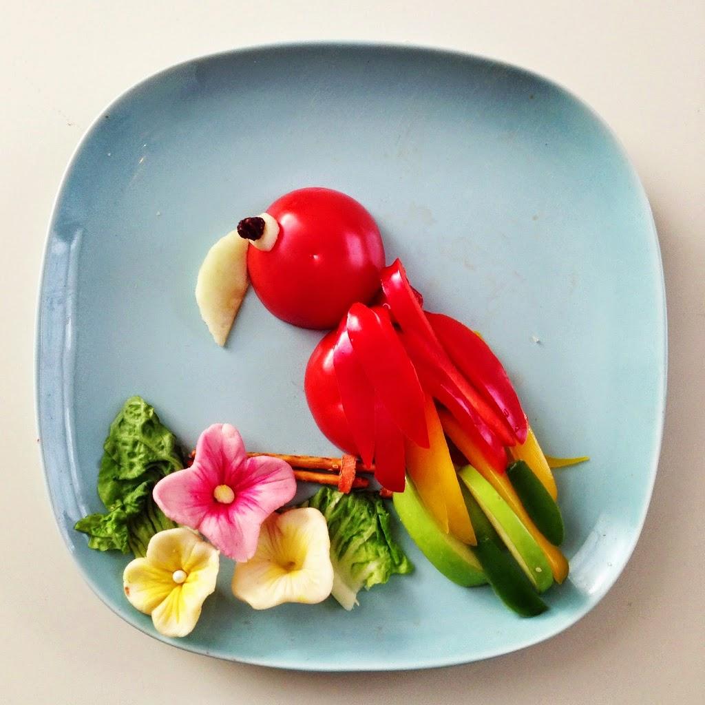 Frukt-Papegøye