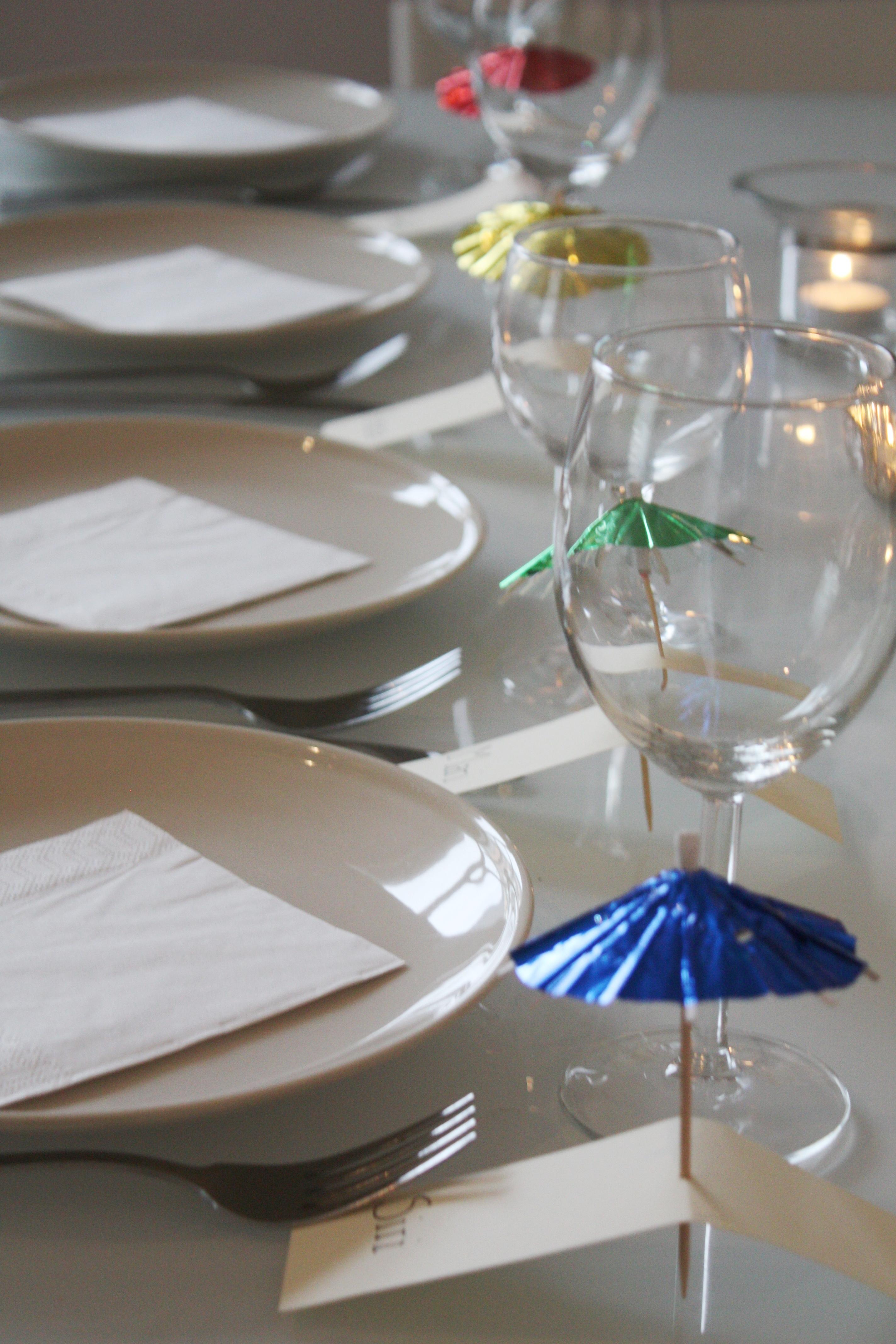 DIY Solseng-med parasoll-bordkort
