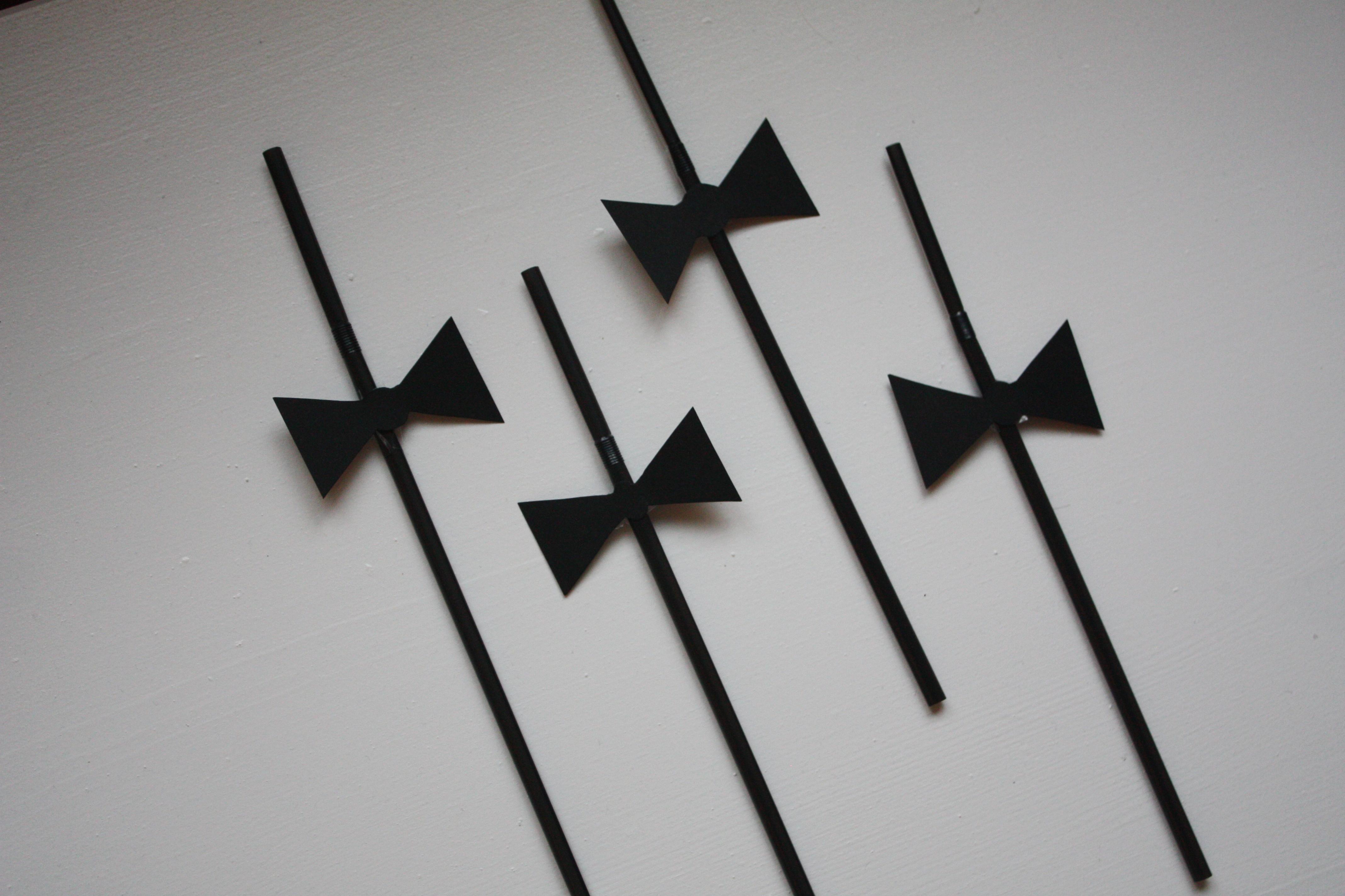 Black tie- Sugerør