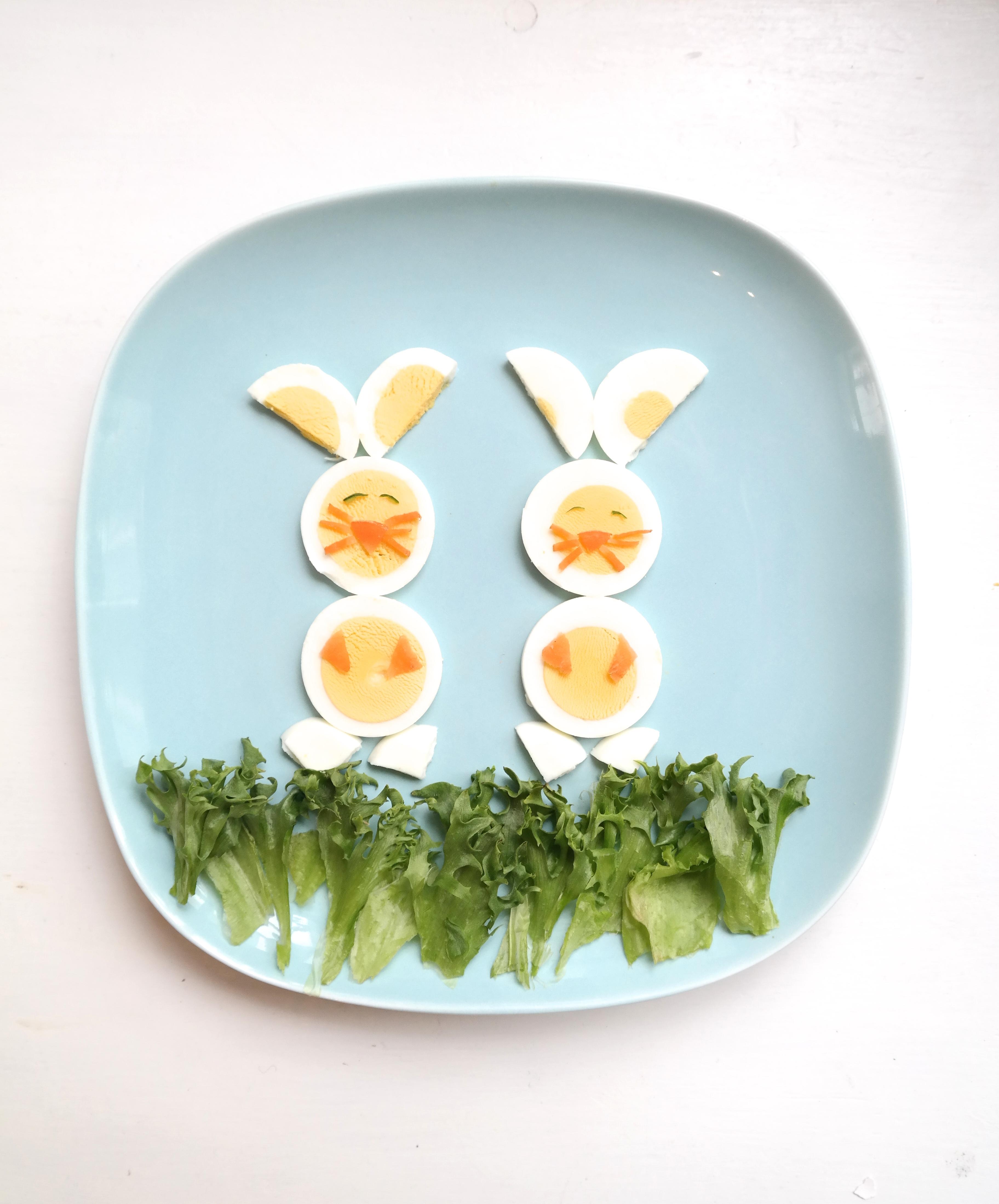 Påskehare av egg