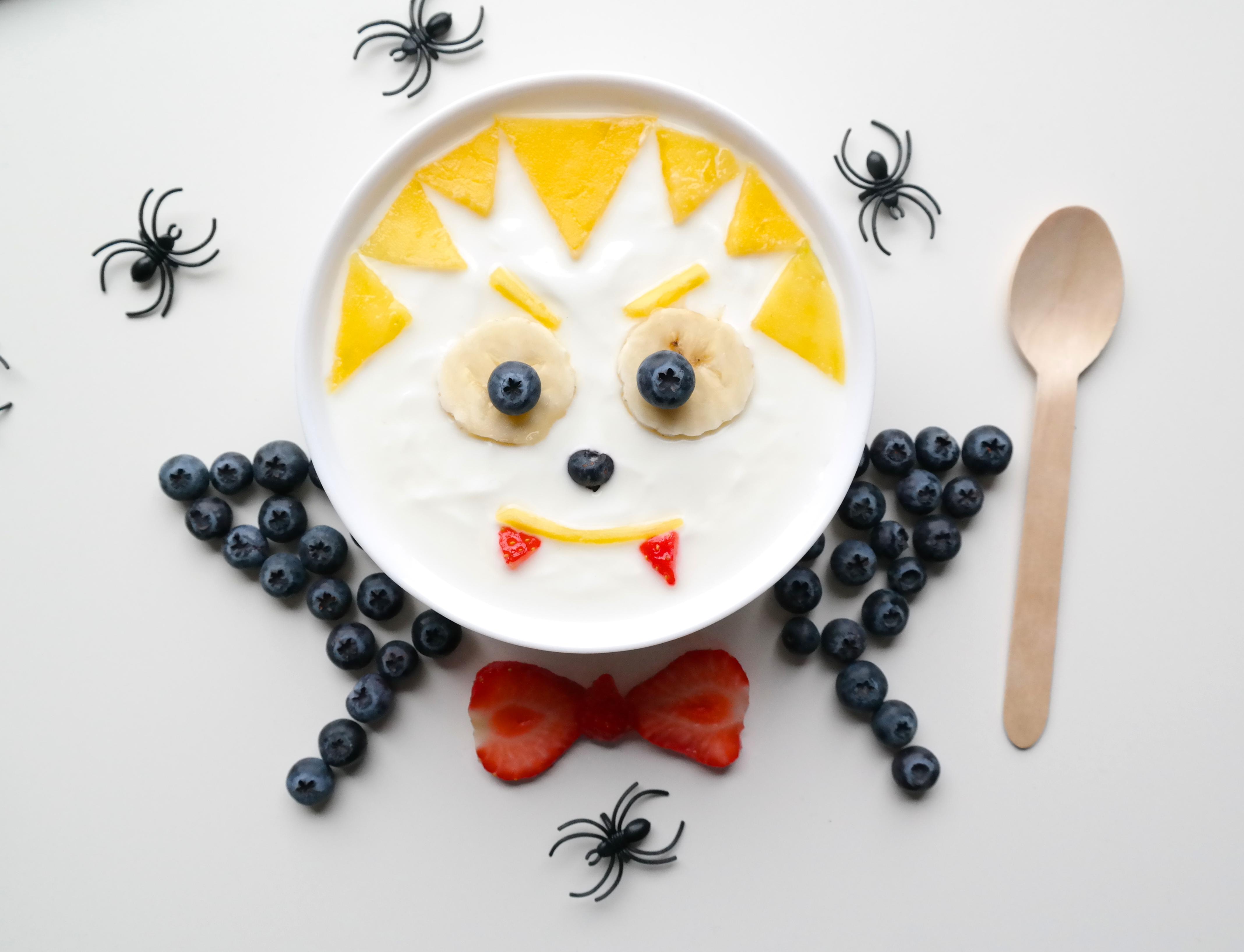 Kreativ mat til Halloween