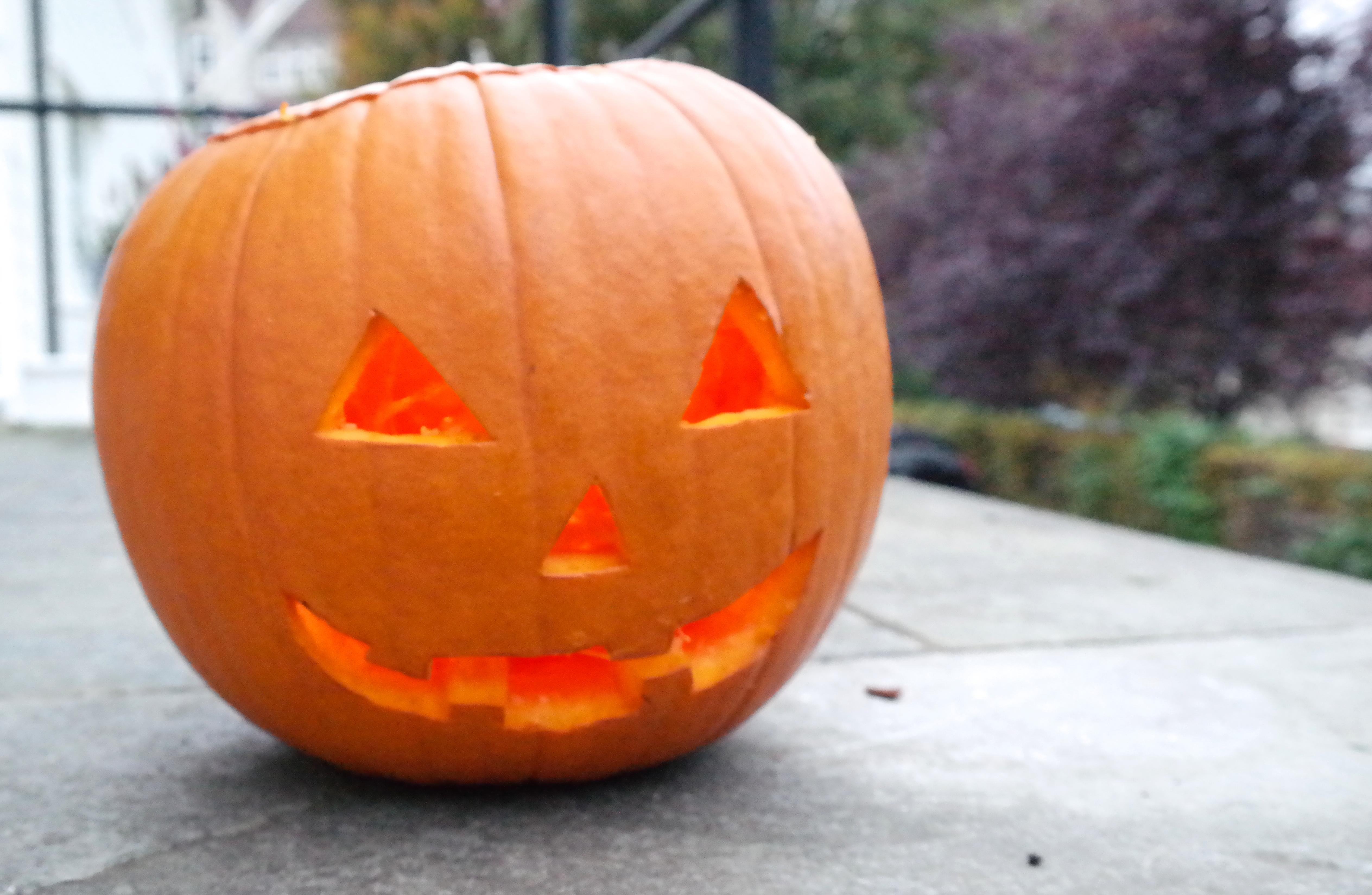 Lag din egen Gresskarlykt til Halloween