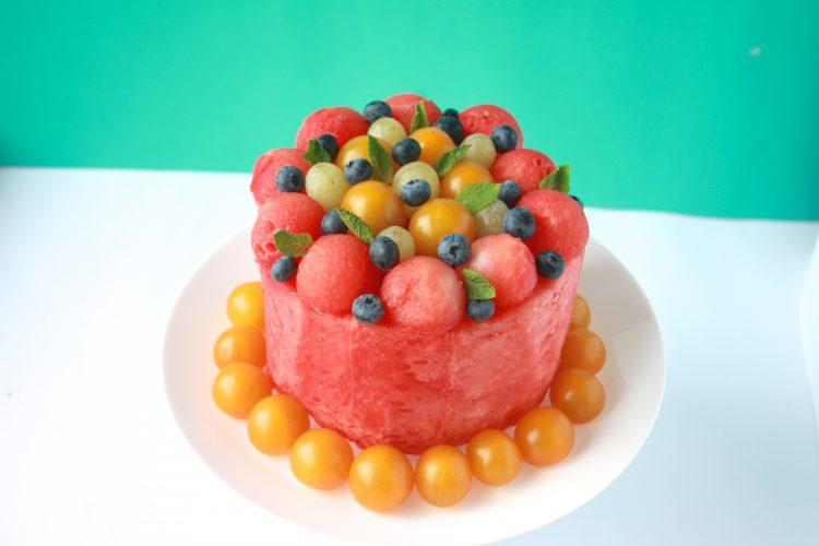 Vannmelon-kake