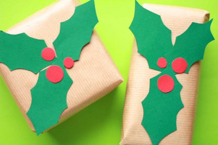 Kreativ julegaveinnpakning med papp