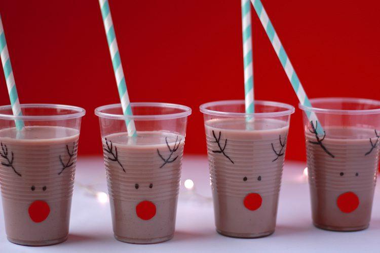 Søte DIY Reinsdyr kopper til jul