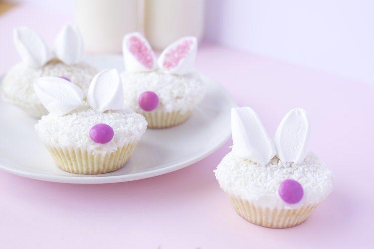 Kreative Påskehare-muffins